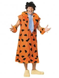 The Flintstones Fred Feuerstein Kostüm orange-schwarz-blau