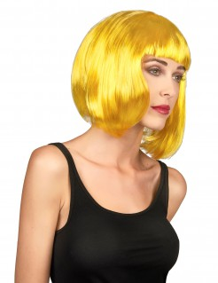 Pagenschnitt Damen-Perücke blond