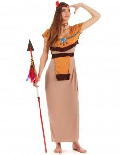 Indianerinnen-Verkleidung für Damen