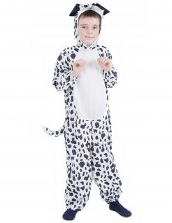 Dalmatiner-Kinderkostüm schwarz-weiss