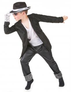Popstar Kinderkostüm schwarz-weiss