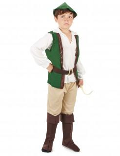 Mittelalter Bogenschütze-Kostüm für Jungen