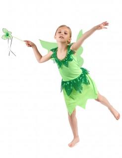 Märchenfee Kinder-Kostüm grün