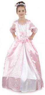 Edles Prinzessin Kostüm für Mädchen rosa