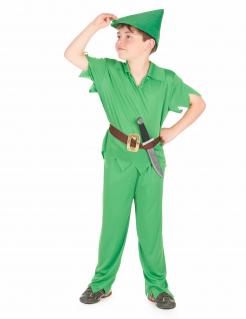 Robin Hood Kinderkostüm grün