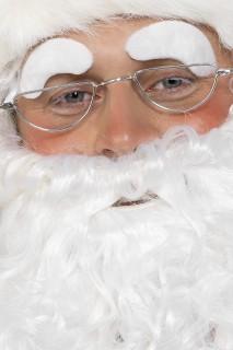 Nikolaus Brille Weihnachten silber