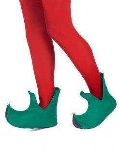 Wichtel-Schuhe Kostümzubehör Elf grün