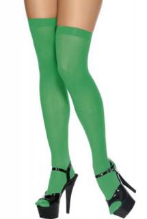 Overknees green