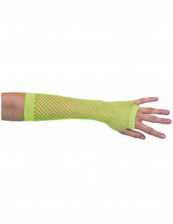 Netz-Armstulpen neongrün