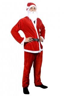 Weihnachtsmann-Kostüm rot