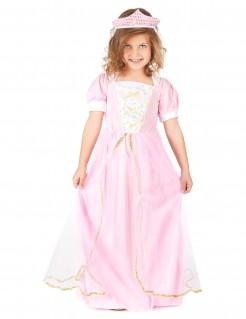 Prinzessinnen Kostüm für Kinder rosa-gold