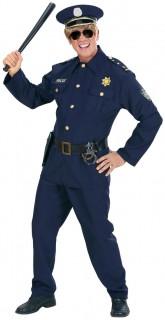 Polizei Kostüm Cop blau