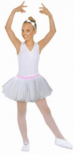 Kinder-Petticoat Tutu weiss