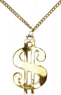 Dollarzeichen Kette Halskette gold