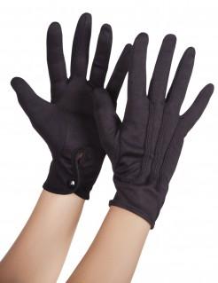 Handschuhe kurz schwarz
