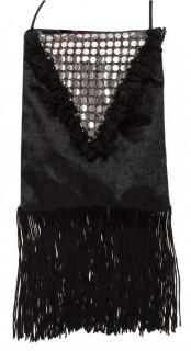 Charleston-Tasche für Damen schwarz