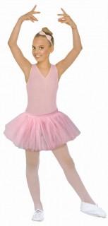 Kinder-Petticoat Karneval pink