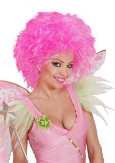 Fee Kurzhaar-Perücke neon pink