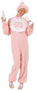 Baby Säugling Damenkostüm rosa