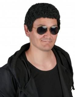 Kurze Afro Perücke schwarz