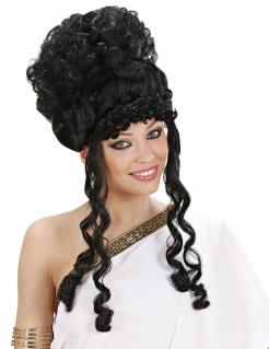 Göttin-Damenperücke schwarz