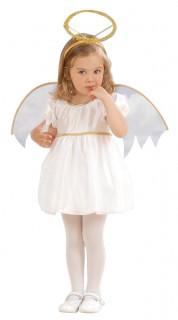 Engelchen Kinderkostüm Engel weiss