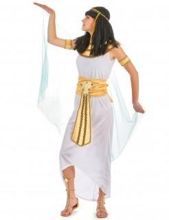 Nil-Königin - Damen-Kostüm in Weiß mit Gold