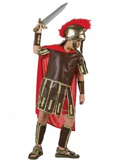 Römer-Kinderkostüm braun-gold-rot
