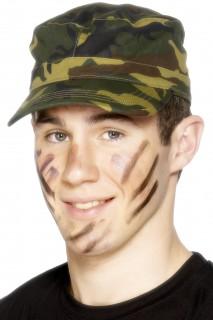 Soldaten Mütze camouflage