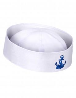 Matrosen Mütze weiss-blau