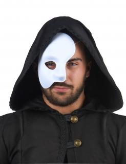 Halb-Maske Phantom weiss
