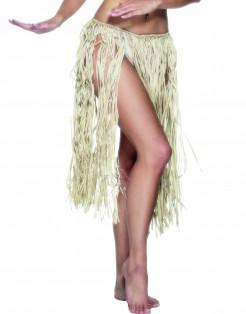 Hawaii-Rock Bastrock Kostümzubehör beige