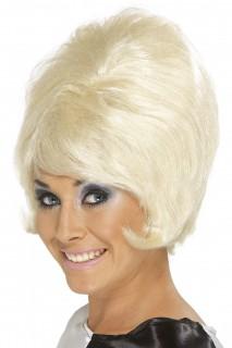 Retro-Perücke 60er Jahre blond