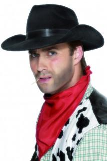 Cowboy Hut klassisch schwarz