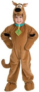 Offizielles Scooby-Doo™-Kostüm für Kinder Hunde-Kostüm braun