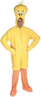 Tweety Kostüm Lizenzware gelb-orange