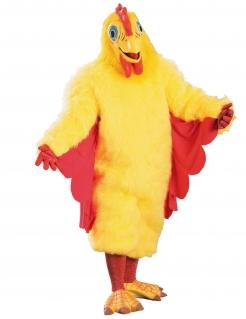 Hühnerkostüm Unisex-Tierkostüm gelb-rot