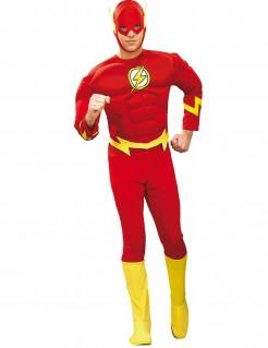 The Flash Superheld Comic Kostüm rot-gelb
