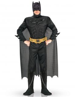 Batman™-Kostüm für Herren Superheld Lizenzware schwarz
