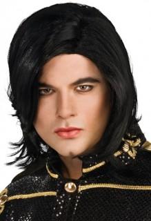 Michael Jackson Lizenz-Perücke schwarz