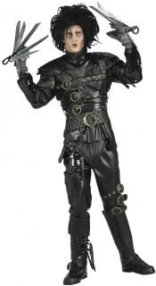 Hochwertiges Edward mit den Scherenhänden™-Lizenzkostüm Filmkostüm schwarz