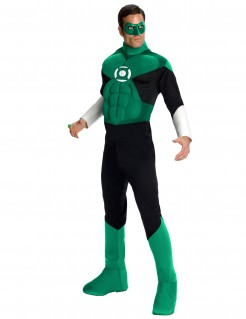 Green Lantern-Herrenkostüm Superheld grün