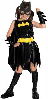 Batgirl™-Kostüm für Mädchen Karneval schwarz-gelb