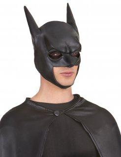 Batman-Erwachsenenmaske Superheld schwarz