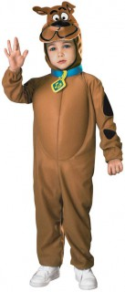 Scooby-Doo™-Kinderkostüm Lizenzartikel braun