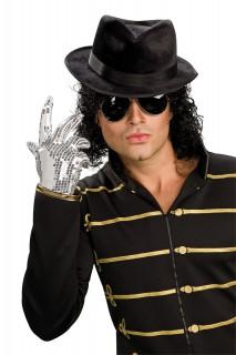 Michael Jackson Pailletten Handschuh silber