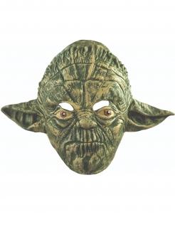 Yoda-Erwachsenenmaske Star Wars grün