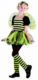 Bienen Kinder-Kostüm schwarz-gelb