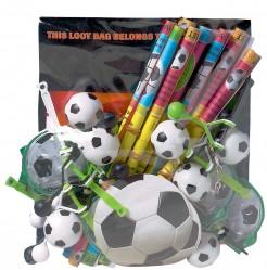 Fußball Party Geschenk-Set 48-teilig bunt