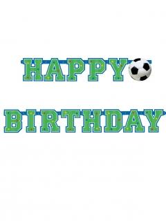 Geburtstagsgirlande mit Fußball-Motiv
